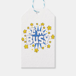 I'm Busy Gift Tags