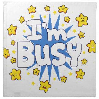 I'm Busy Napkin