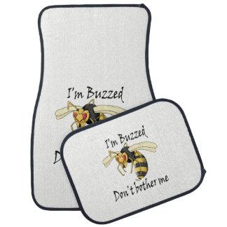 I'm buzzed don't bother me car mat