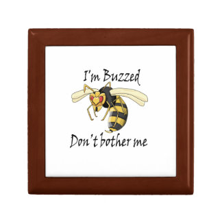 I'm buzzed don't bother me gift box