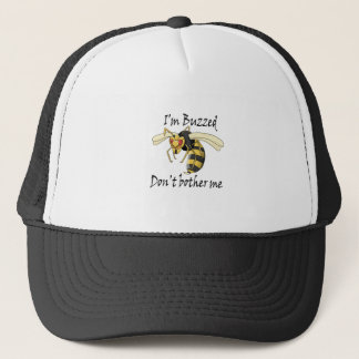 I'm buzzed don't bother me trucker hat