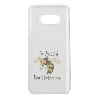 I'm buzzed don't bother me uncommon samsung galaxy s8 plus case