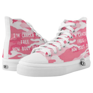 I'M CANCER FREE HOW BOUT DAT HIGH TOPS