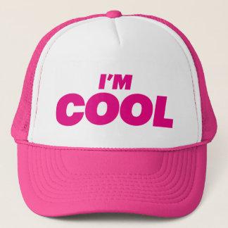 I'M COOL fun slogan trucker hat