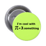I'm Cool With Pi Is 3 Point Something Pin
