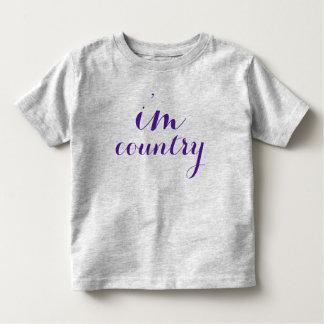 i'm country tshirt toddler purple