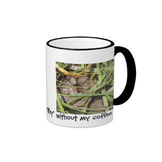 I'm Crabby Ringer Coffee Mug