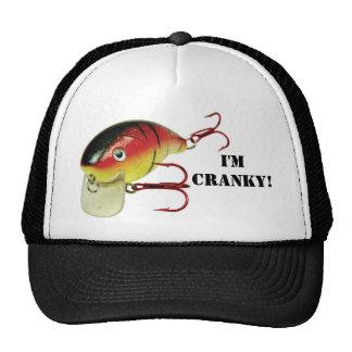 I'M CRANKY CAP TRUCKER HAT