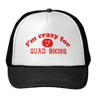I'm crazy for Quad Biking. Mesh Hat