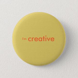 """""""I'm creative"""" 2 Inch Round Button"""