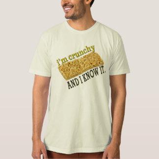 i'm crunchy and i know it. tshirt