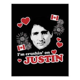 I'm crushin on Justin -.png Poster
