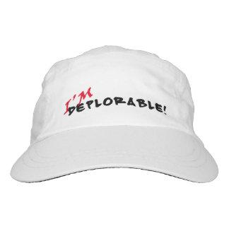 I'm Deplorable! Custom Woven Performance Cap