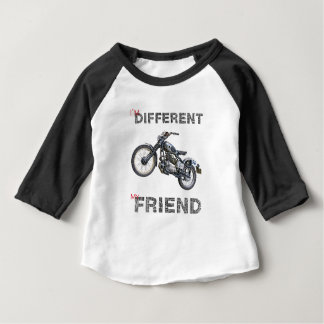 Im different motorcycle baby T-Shirt