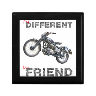 Im different motorcycle gift box