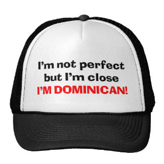 I'M DOMINICAN TRUCKER HAT