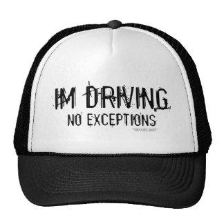 IM DRIVING TRUCKER HAT