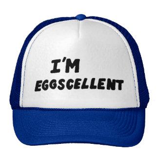 I'm Eggscellent Trucker Hat