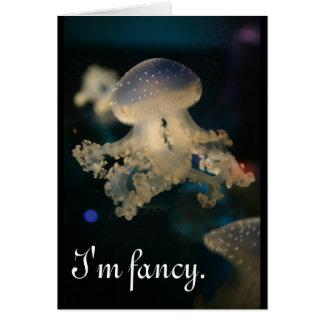 I'm fancy card