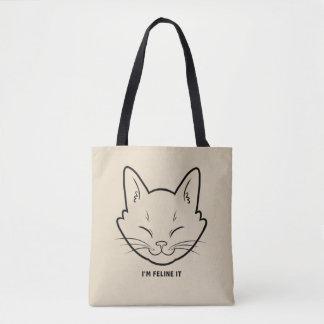 I'm Feline It Tote Bag