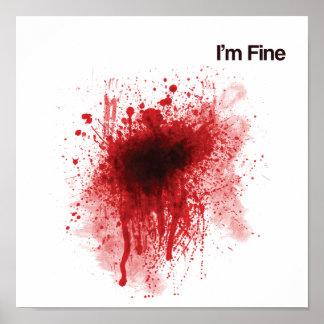 I'm Fine - Poster