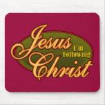 I'm Following Jesus Christ Mouse Pad