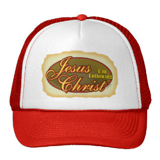 I'm Following Jesus Trucker Hat