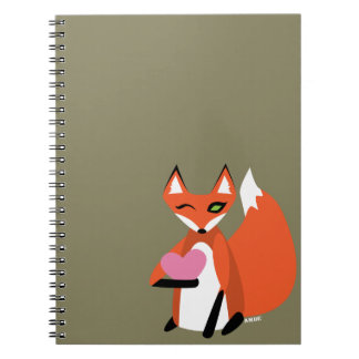 I'm FOXated on YOU Notebooks