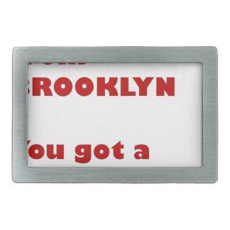 I'm from Brooklyn Belt Buckles