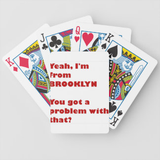 I'm from Brooklyn Bicycle Playing Cards