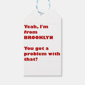 I'm from Brooklyn Gift Tags