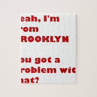 I'm from Brooklyn Jigsaw Puzzle