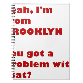I'm from Brooklyn Notebook