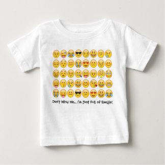 I'm Full of Emojis . . . Toddler Emoji Tee Shirt