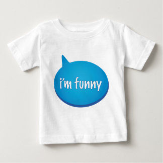 "I'm Funny kids - SEE ALSO ""My Brother is Funny"" Baby T-Shirt"