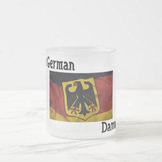 Im German Dammit Frosty Mug