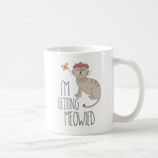 I'm Getting Meowied Cat Wedding. Coffee Mug