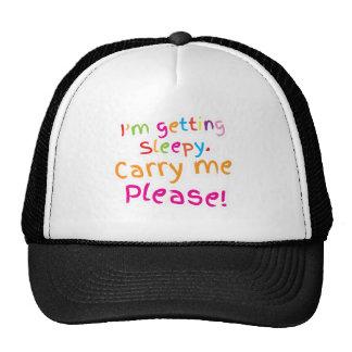 I'm getting SLEEPY carry me please Trucker Hat