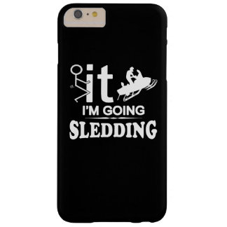 I'M GOING SNOWMOBILING BARELY THERE iPhone 6 PLUS CASE