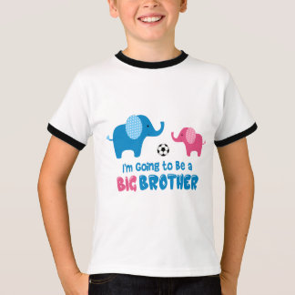 I'm Going To Be a Big Brother 2018 Soccer T-Shirt