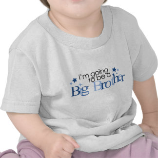 I'm going to be a big brother tshirts