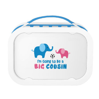 I'm Going To Be a Big Cousin Elephant Lunch Box