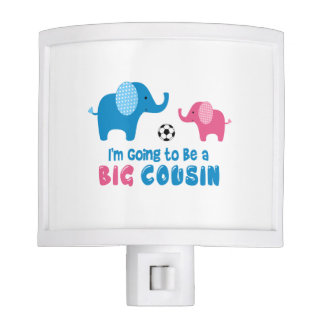 I'm Going To Be a Big Cousin Elephant Nite Lites