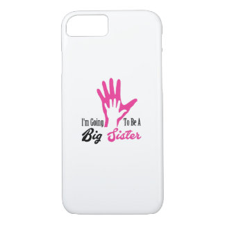 I'm Going To Be A Big Sister Newborn iPhone 8/7 Case