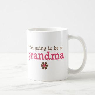 I'm going to be a grandma T-shirt Mugs