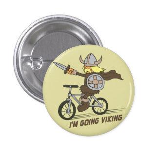 I'm Going Viking Funny Wordplay Flair Button