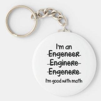I'm Good With Math Keychain