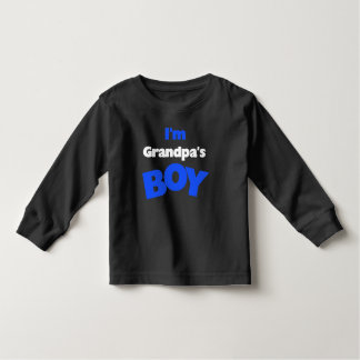 I'm Grandpa's Boy Toddler T-shirt