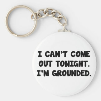 I'm Grounded Keychain