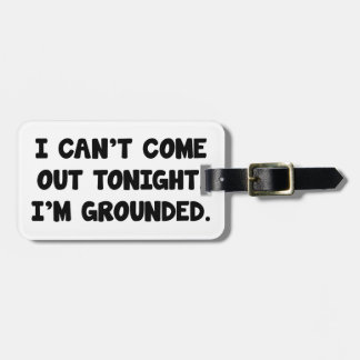 I'm Grounded Luggage Tag